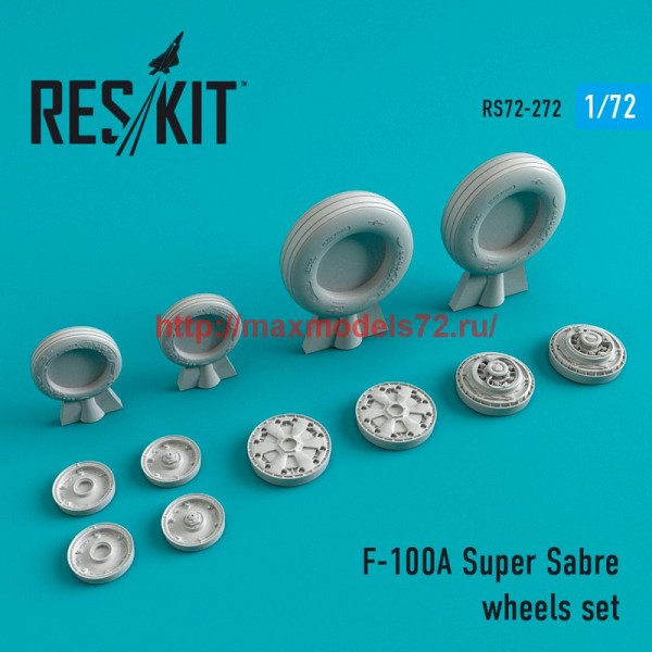 RS72-0272   F-100 (A) Super Sabre wheels set (thumb48685)