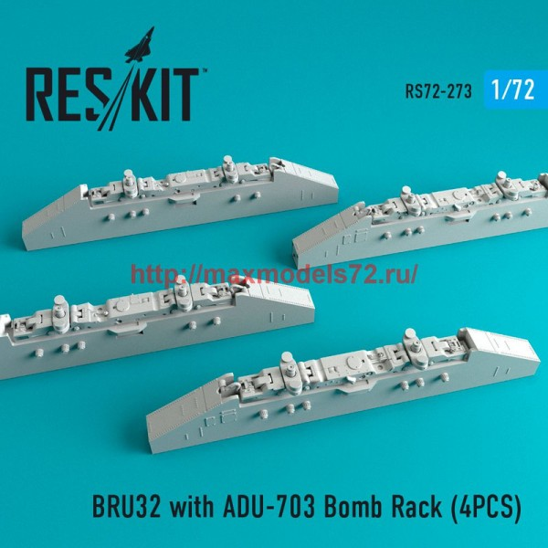 RS72-0273   BRU32 with ADU-703 Bomb Rack (4PCS) (thumb48687)