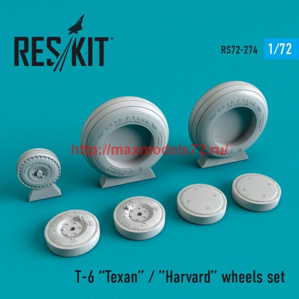 RS72-0274   Texan T-6 wheels set (thumb48689)