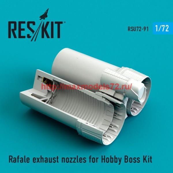 RSU72-0091   Rafale exhaust nozzles for Hobby Boss  Kit (thumb48737)