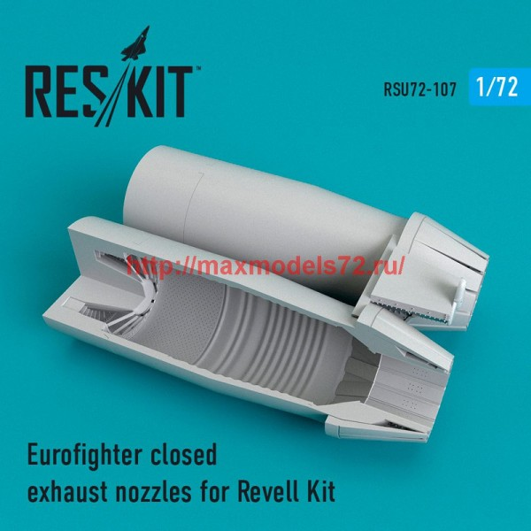 RSU72-0107   Eurofighter closed exhaust nozzles for Revell Kit (thumb48769)
