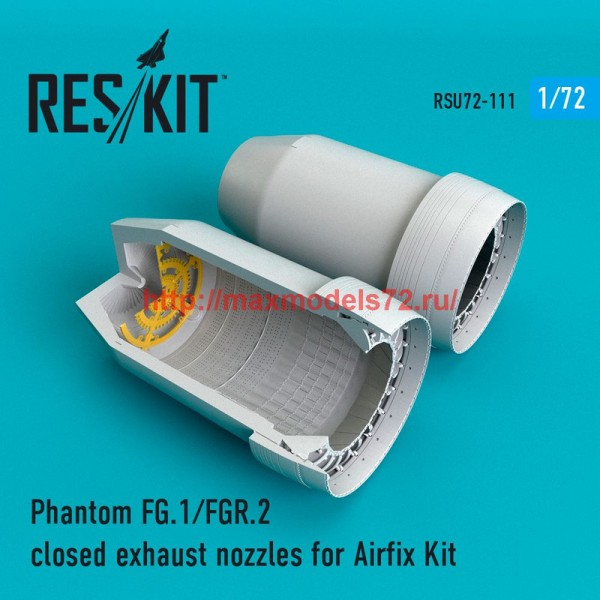 RSU72-0111   Phantom FG.1/FGR.2 closed exhaust nozzles for Airfix Kit (thumb48777)