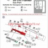 A-squared72023   Su-35 gun port (photoetched detailing set) for Hasegawa kit (attach3 49878)