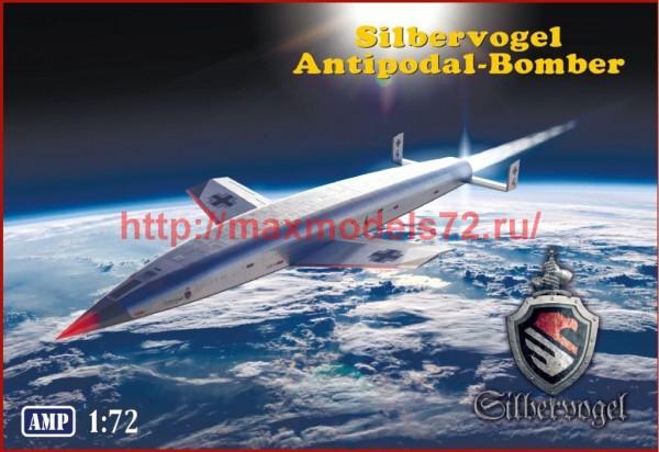 "AMP72014   ""Silbervogel""   Third Reich  sub-orbital bomber (thumb51982)"