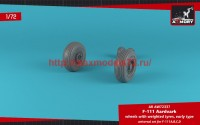 AR AW72337   1/72 F-111 Aardvark early type wheels w/ weighted tires (attach1 49126)