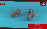 AR AW72421   1/72 A.W. Valiant wheels w/ weighted tires (attach1 49136)