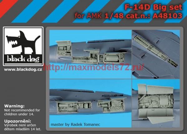 BDA48103   1/48 F-14 D big set (thumb55326)