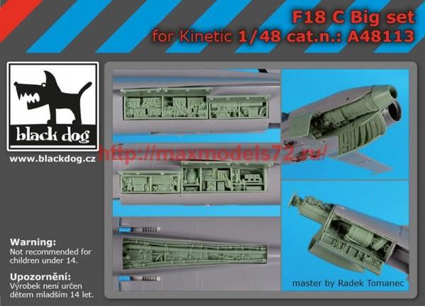 BDA48113   1/48F-18 C big set (thumb55405)