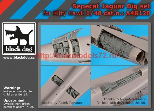 BDA48120   1/48 Sepecat Jaguar big set (thumb55463)