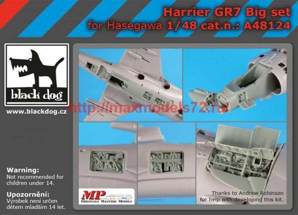 BDA48124   1/48 Harrier GR 7 big set (thumb55500)
