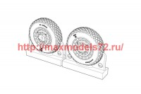 BRL72217   F4U Corsair Diamond Thread Wheels set (attach1 49305)
