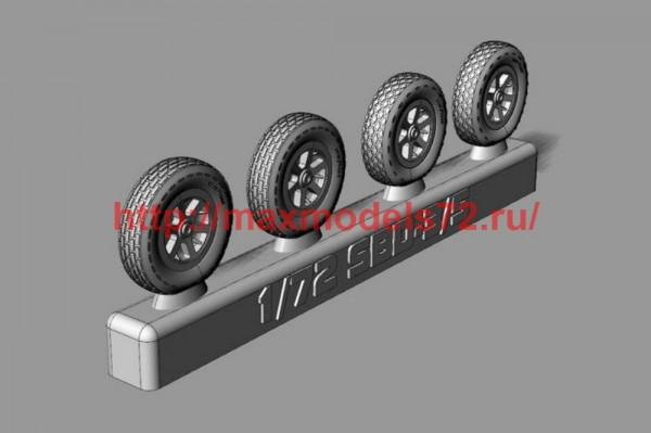 BRL72239   SBD Dauntless Wheels (thumb50011)