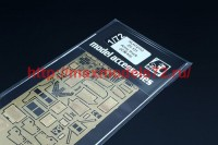 HLH72113   Zil-131 Army truck (ICM kit) (attach1 49194)
