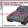 OKBV72091   German Medium Tank Pz.IV Ausf.K, 9./B.W. development (thumb50491)