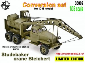 ZZ35002   Crane Bleichert  Studebaker  conversion set for ICM (thumb49746)