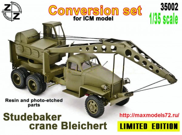 ZZ35002   Crane Bleichert  Studebaker  conversion set for ICM (thumb49746)