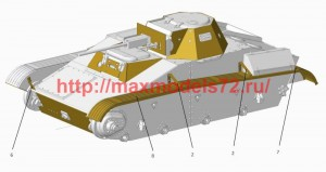 ACEPE7269   Т-60 fenders (for ACE kits) (attach3 50634)
