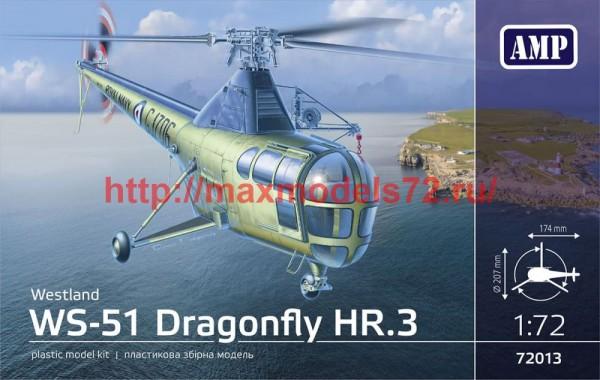 AMP72013   WS-51 Dragonfly HR/3 Royal Navy (thumb51116)