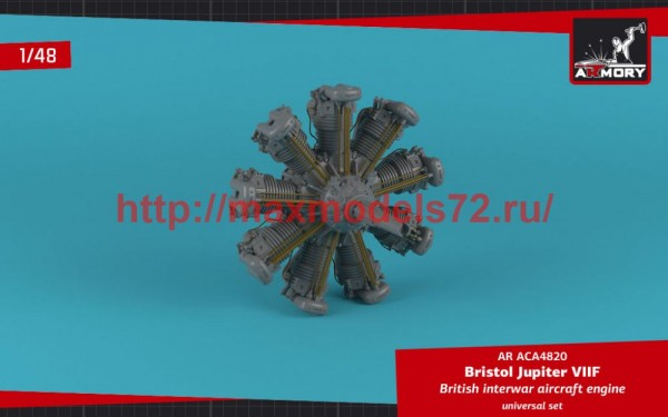 AR ACA4820   1/48 Bristol Jupiter VII aircraft engine (thumb50712)