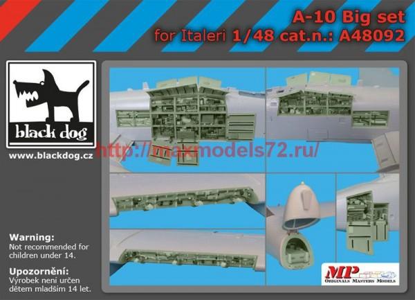BDA48092   1/48 A-10 big set (thumb55242)