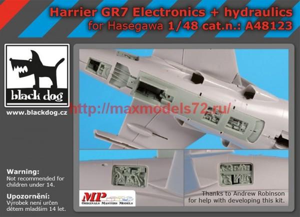 BDA48123   1/48 Harrier GR 7 electronics+hydraulics (thumb55490)
