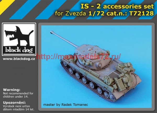 BDT72128   1/72 IS-2 accessories set (thumb55530)
