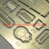 A-squared72023   Su-35 gun port (photoetched detailing set) for Hasegawa kit (attach1 49878)