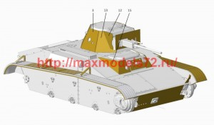 ACEPE7268   Т-60 add on armor (for ACE kits) (attach2 50628)