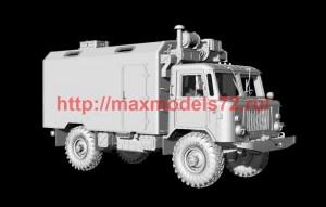 AMinA122   Армейский вездеход 4х4 с КУНГом   Army Rover Universal House Body KUNG (attach1 50157)
