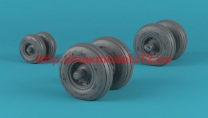 """AR AW48335   1/48 OV-22 Osprey wheels w/ weighted tires type """"b"""" (attach2 50731)"""