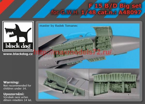 BDA48097   1/48 F-15 B/D big set (thumb55280)