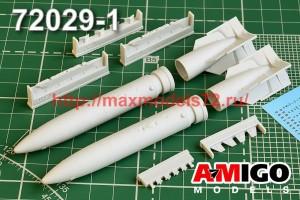АМG 48029   Су-24М, Су-34 подвесной топливный бак ПТБ-3000 (thumb50042)
