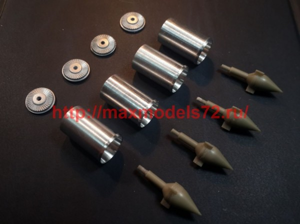 """MiniWА7282   Воздухозаборники для B-58 Hustler """"Italeri"""" (thumb51227)"""