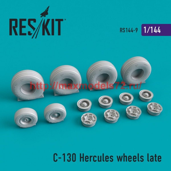 RS144-0009   C-130 Hercules wheels late (thumb50377)