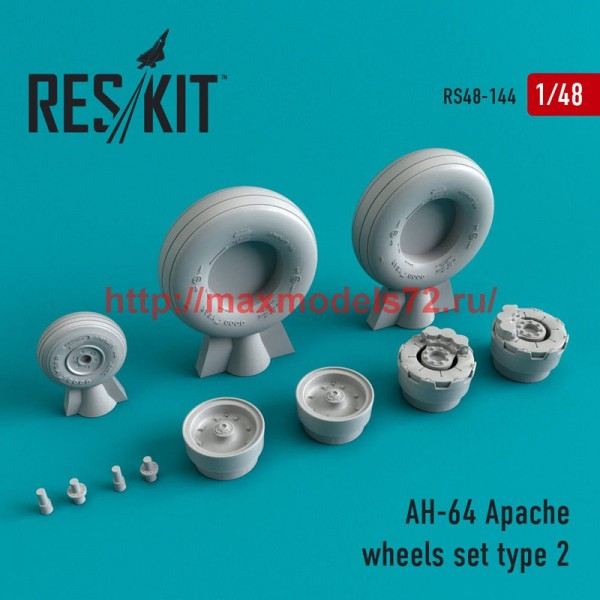 RS48-0144   AH-64 Apache Type 2 wheels set (thumb50200)