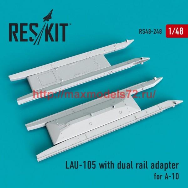 RS48-0248   LAU- 105 launcher (2 PCS) A-10 (thumb50228)