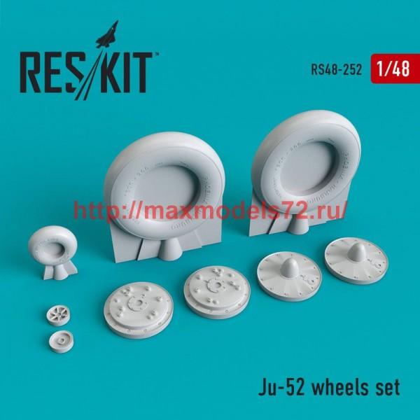 RS48-0252   Junkers Ju -52 wheels set (thumb50230)