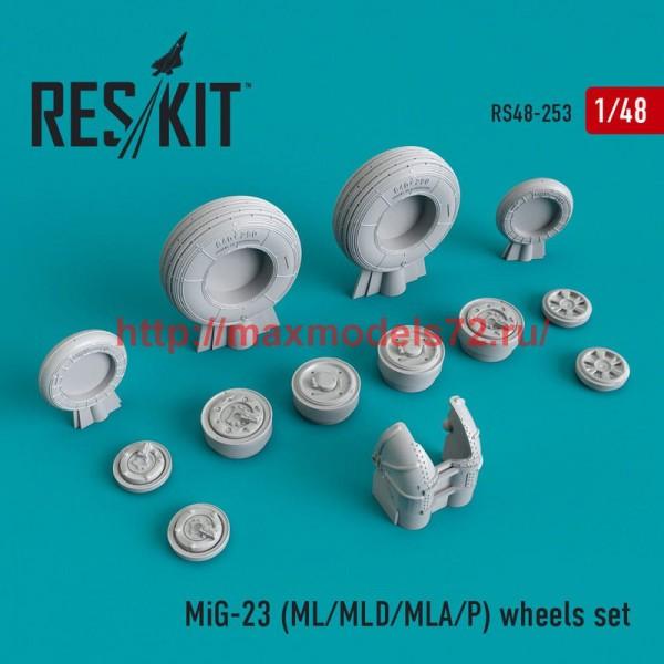 RS48-0253   MiG-23 (ML/MLD/MLA/P) wheels set (thumb50232)