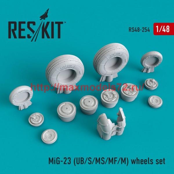 RS48-0254   MiG-23 (UB/S/MS/MF/M) wheels set (thumb50234)