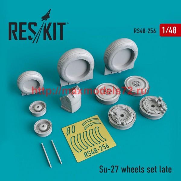 RS48-0256   Su-27 wheels set Late version set (thumb50238)