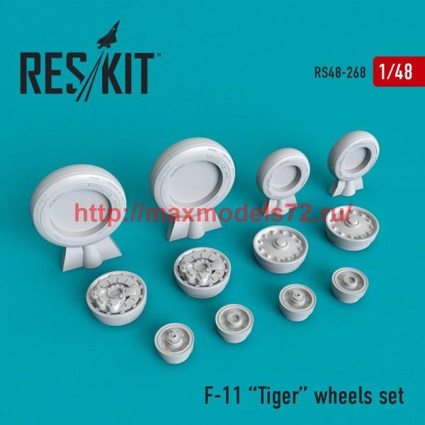 RS48-0268   F-11 Tiger wheels set (thumb50258)