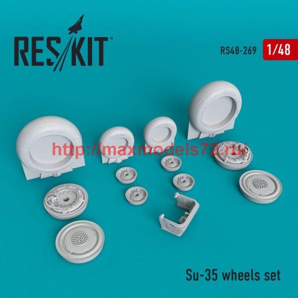 RS48-0269   Su-35 wheels set (thumb50260)