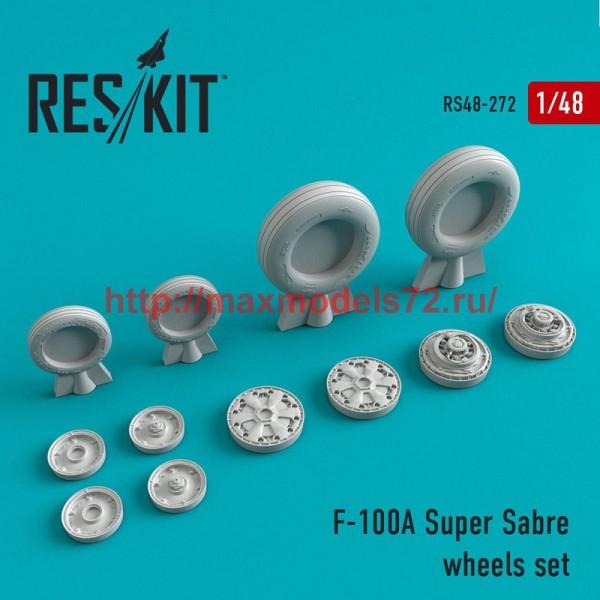 RS48-0272   F-100 (A) Super Sabre wheels set (thumb50266)