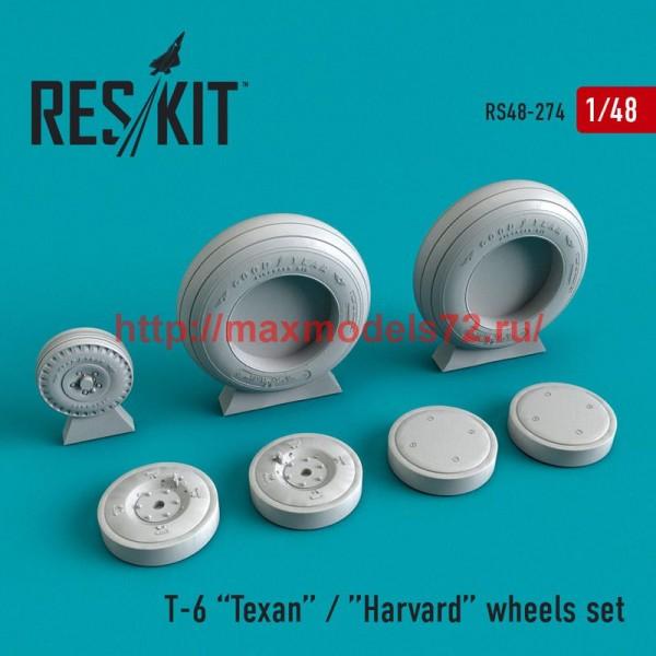 RS48-0274   Texan T-6 wheels set (thumb50270)