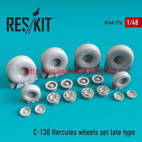 RS48-0276   C-130 Hercules wheels set late type (thumb50274)