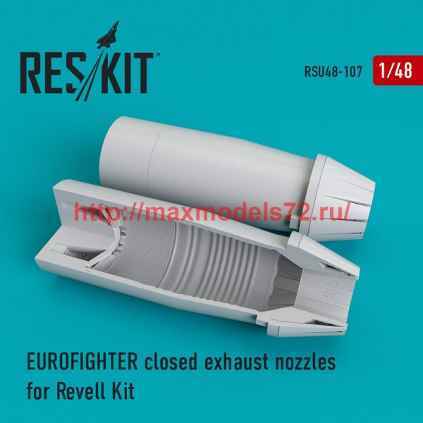 RSU48-0107   Eurofighter closed exhaust nozzles for Revell Kit (thumb50320)
