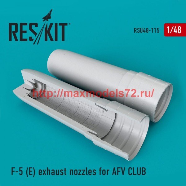 RSU48-0115   F-5E exhaust nozzles for AFV CLUB (thumb50336)