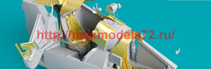 RSU48-0118   Mi-24 (V) Cockpit set with Quinta Studio 3D decals for Zvezda Kit (attach1 50345)