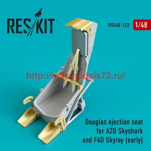 RSU48-0123   Douglas ejection seat for A2D Skyshark and F4D Skyray (early) (thumb50360)