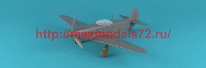 AR14310   1/144 Yakovlev Yak-1b early (green-black camo), Soviet WWII fighter (attach2 51165)